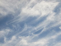 Soft Clouds. Stock Photo