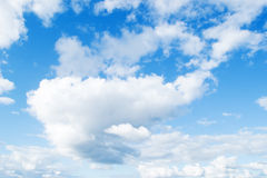Soft clouds Royalty Free Stock Photo