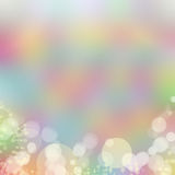 Soft color background. Soft bokeh and color background royalty free illustration