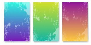 Soft color background with grunge effect. Modern screen vector design for mobile app. Royalty Free Stock Photography