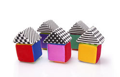 Soft color cubes Stock Photography
