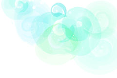 Soft colored abstract background for design. Watercolor texture effect Stock Image