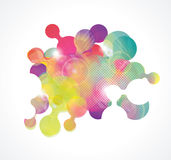 Soft colored abstract background. Vector illustration of soft colored abstract background Stock Image