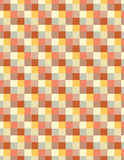 Soft colored squares. Active abstract subject with soft spatial ilusion stock photography