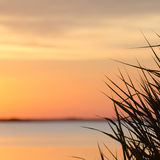 Soft colored sunset Royalty Free Stock Image