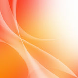 Soft colorful Curved Abstract Background Royalty Free Stock Photography
