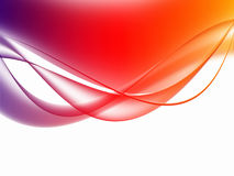 Soft colorful Curved Abstract Background Royalty Free Stock Photo