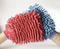Soft colorful duster Stock Photo