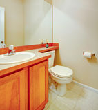 Soft colors bathroom Royalty Free Stock Photo