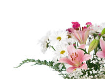 Soft colors flowers bouquet Royalty Free Stock Image