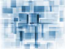 Soft colour square background royalty free stock image