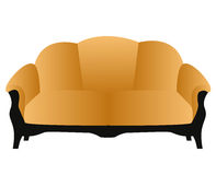 Soft and comfortable home modern sofa Royalty Free Stock Images