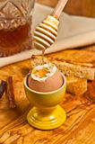 Soft Cooked Egg Royalty Free Stock Image