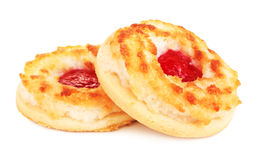 Soft Cookies With Jam Royalty Free Stock Photo
