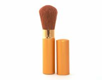 Soft Cosmetic Brush Royalty Free Stock Image