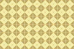 Soft Cream Cappuccino Oriental Arabian Ornamental Wallpaper royalty free illustration