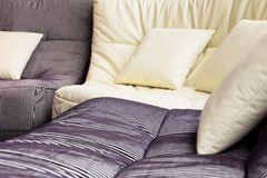 Free Soft Cushion In Sofa Stock Images - 26840564