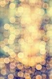 Soft defocused lights Stock Images