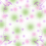 Soft delicate Background in lavender and greens Royalty Free Stock Images