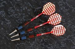 Soft dip darts. Stock Photo