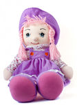 Soft doll on white background royalty free stock photography