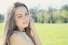 Soft dreamy woman Stock Photography