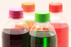 Soft drink bottles Royalty Free Stock Photography