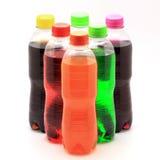 Soft drink bottles Stock Photo