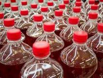 Soft drink bottles Stock Image