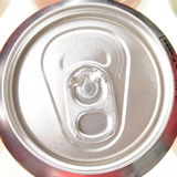 Soft drink can top Royalty Free Stock Images