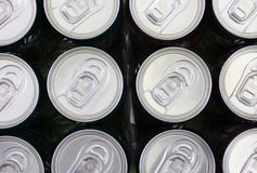 Soft drink cans Royalty Free Stock Photos