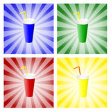 Soft drink cup Royalty Free Stock Photos