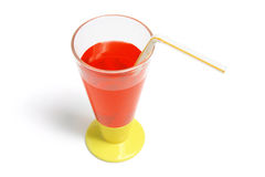 Soft Drink in Plastic Cup Royalty Free Stock Images