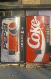 Soft drink vending machines, Manchester, VT Stock Photos