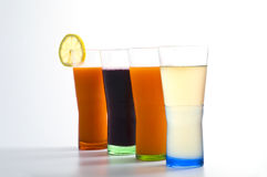 Soft drinks Stock Photography