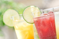 Soft drinks. Taken on a simple shade of outdoor soft drinks Royalty Free Stock Photo