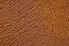 Soft fabric texture in brown colour. High resolution photo Royalty Free Stock Image