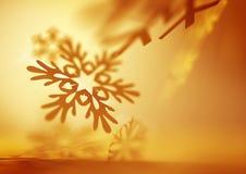 Soft Falling Snowflakes Stock Photos