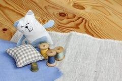 Soft fantasy hobby Handicraft Royalty Free Stock Images