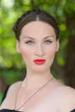 Soft female portrait Stock Photography