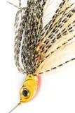 Soft fishing bait. Closeup, prime macro lens used Royalty Free Stock Photos