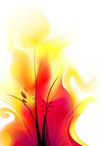 Soft Flames Stock Photography