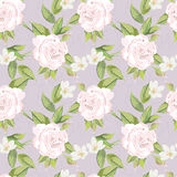 Soft floral pattern Stock Images