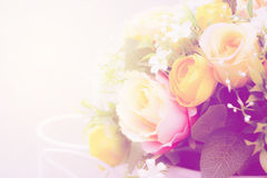 Soft flower color Abstract background Stock Image