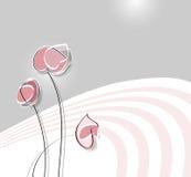 Soft flower design stock illustration