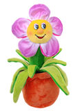 Soft flower toy Stock Photo