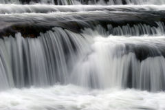 Soft flowing waterfall Royalty Free Stock Photo