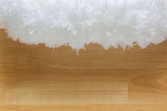 Free Soft Fluffy White Cloud Like Fur Microfiber Fabric On Blurred Wo Royalty Free Stock Photos - 96123878