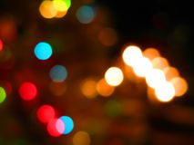 Soft focus background lights Royalty Free Stock Images