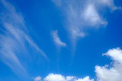 Soft focus on beautiful cloudy. dreaming and relex  concept. Soft focus on  beautiful blue sky and cloudy . dreaming and relex  concept Stock Photo